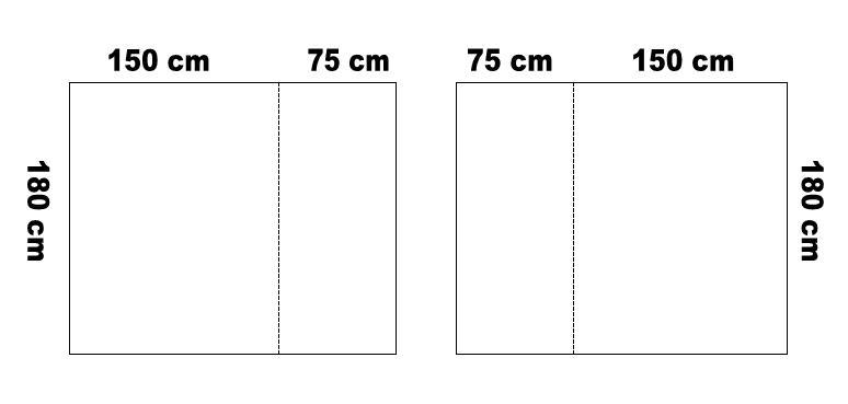 e0415e255fd3 Az anyagszükséglet mindkét esetben 3x180 cm, valamint 3x10 cm a felhajtásra  és ráncoló bevarrására= 570 cm.